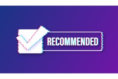 Recommend glitch icon. White label recommended on green back Product Image 1