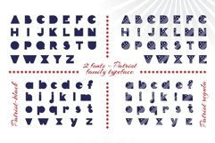 Patriot font family Product Image 6