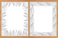 Daily planner, 10 coloring planner pages Product Image 6