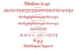 Madison Script Product Image 8