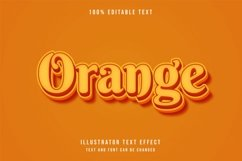 Orange - Text Effect Product Image 1
