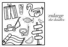 Summer Break / Summer Doodle Font  Product Image 5