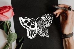 Papercut Beautiful Butterfly Floral Arrangement Product Image 4