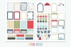 500 Winter & Christmas Digital & Printable Planner Stickers Product Image 5