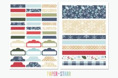 500 Winter & Christmas Digital & Printable Planner Stickers Product Image 6
