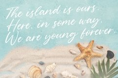 Geraldo Island Modern Handwritten Font Product Image 2