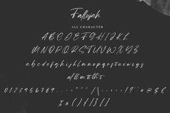 Fallujah   Modern Script Font Product Image 3