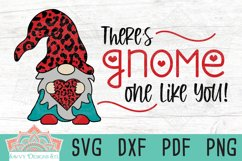 There's Gnome One Like You Valentine Layered Cut File Product Image 1