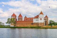 Castle Complex Mir On Sunny Day with blue sky Product Image 1
