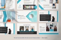 Aqua Business Google Slide Product Image 2