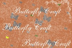 Butterflys Digital Paper, Vintage paper , Butterfly clip art Product Image 4