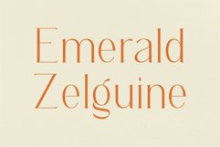 Regoza -Typeface Slim Font Product Image 5