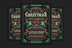 Christmas Party Celebration Flyer Product Image 1