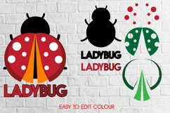 Ladybug Layered 3D svg eps ai png files Product Image 2