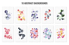 Abstract watercolor backgrounds and shapes Product Image 2