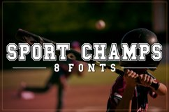 Sports Font Pack | Varsity Font Product Image 1