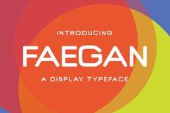 Faegan Typeface Product Image 1