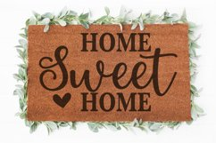 Home Sweet Home svg | Welcome sign svg | Doormat svg Product Image 1