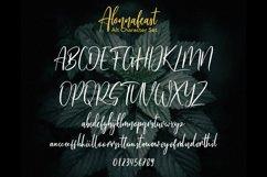 Alonnafeast Brush Script Font Product Image 8