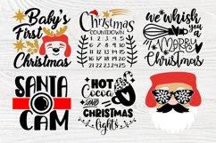 Christmas SVG Bundle, Christmas Shirt Svg, Funny Santa Claus Product Image 5