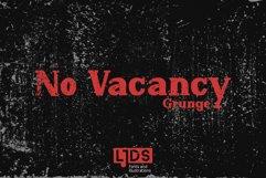 No Vacancy Grunge Product Image 2
