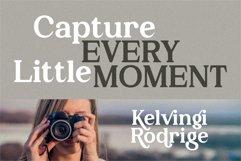 Kelvingi Rodrige - Luxury Serif Font Product Image 4
