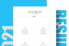 Personal Trainer Resume Template | Cover Letter | Reference Product Image 6