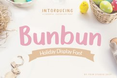 Bunbun - Holiday Font Product Image 1