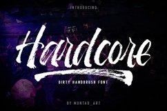 Hardcore   Hand Brush Font Product Image 1