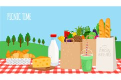 Outdoor breakfast picnic Product Image 1