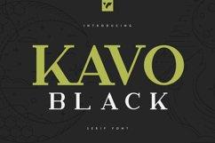 Kavo Serif Black Product Image 1
