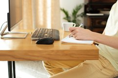 works at home. freelancer. remote work Product Image 1