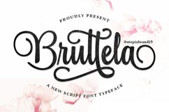 Bruttela Script Product Image 1