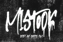 Mistook - Street Art Graffiti Font Product Image 1