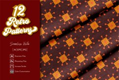12 Retro Patterns Product Image 1