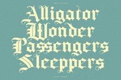 Rozex - Bold Decorative Gothic Font Product Image 5