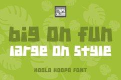 Hoola Hoopa Font PLUS BONUS Ligature Set Product Image 3
