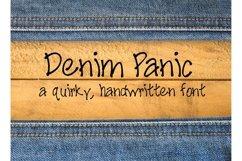 Denim Panic Handwritten Font Product Image 1