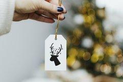 Oh deer Christmas is here. Oh deer SVG. Reindeer Head SVG. Product Image 4