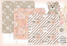 Baby Girl digital paper pack 2 Product Image 2
