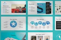 Aqua Business Keynote Product Image 6