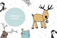 Animals & patterns for baby nursery Cute baby illustrations Product Image 3