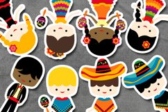 Cinco de mayo kids graphic illustration / Mexican boys girls Product Image 2