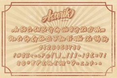 ASTERIK || Layered Bold Script Product Image 2