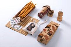 Watercolor sushi set of beautiful tasty japanese sushi Product Image 3