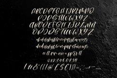 Web Font Moon heart script font Product Image 5