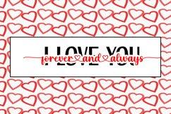 I Love You Forever & Always - Cut File SVG, PNG, JPEG Product Image 2