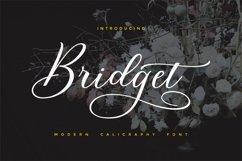 Bridget Script Product Image 1