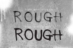 Rough Spray SVG typeface Product Image 6