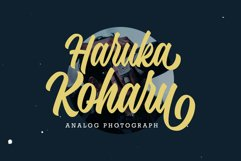 Hadnich - Modern Script Product Image 4